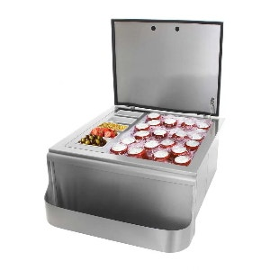 Outdoor Kitchen Ice Bins & Coolers