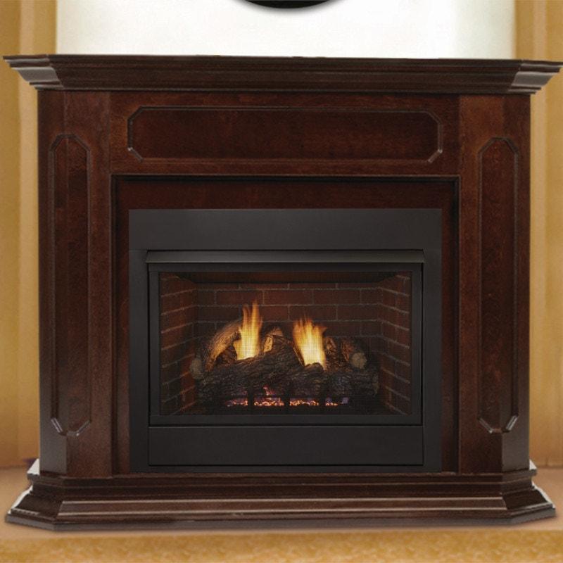 Wood Framed Gas Fireplace
