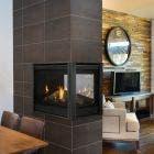 Majestic Pearl II Penninsula Gas Direct Vent Fireplace- PEARL36PRIN