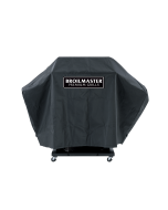 Broilmaster Full Length Premium Grill Cover For P, H, R, And T Series Grills On Cart With Two Side Shelves - DPA110