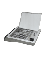 Broilmaster Stainless Steel Cart Mount Gas Side Burner - DPA150