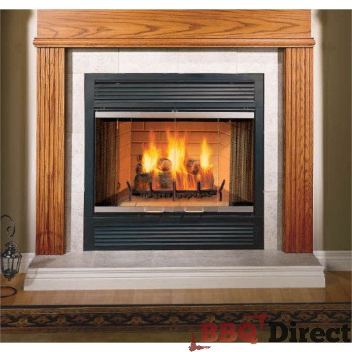 Majestic Sovereign Wood Burning, How To Use A Majestic Fireplace