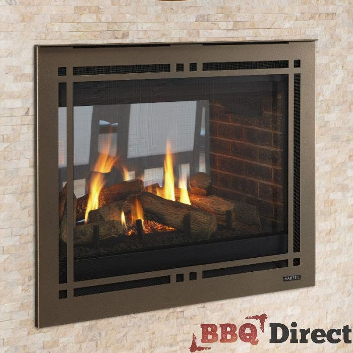 Majestic 43 Inch See Through Gas, How To Use A Majestic Fireplace