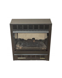 Buck Stove Model 1127 Vent Free Gas Stove Or Fireplace - Wall Mount