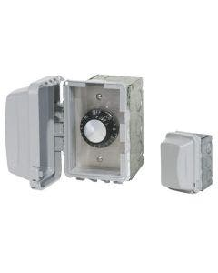 Infratech Single Regulator Switch In-Wall - Weatherproof With Electrical Box 240V - 240V - 15A/3000W Max