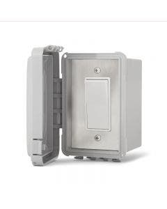Infratech Single Simple Switch Surface Mount Weatherproof With Electrical Box - 20A Max