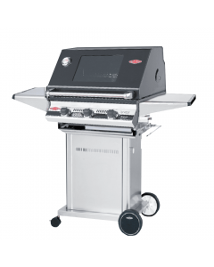 Beefeater Signature Series S3000 3-Burner Grills With Portable Trolley Cart - S3000E/S/SS