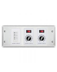Infratech 2 Zone Analog Control With Digital Timer