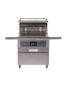 Coyote 36-Inch Freestanding Pellet Grill With Portable Cart - C1P36