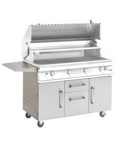 PGS Legacy Stainless Steel Portable Cart for Big Sur Grills