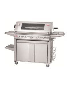 Beefeater Signature Series S3000 5-Burner Grills With Premium Portable Trolley Cart - S3000E/S/SS-5P