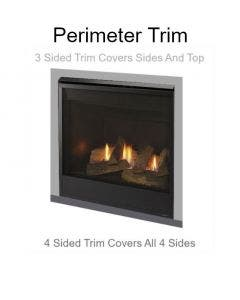 """Majestic Perimiter Trim - 3 Sided - 40-5/16"""" w x 34-5/8"""" h"""