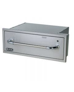 Bull Electric Stainless Steel Single Drawer Warming Enclosed Design - 85747