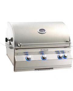 Fire Magic Aurora 540i 30-Inch Built-In Gas Grill With Rotisserie And Back Burner - A540i-8EAN/8EAP