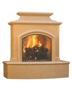 American Fyre Designs Mariposa Vent-Free Outdoor Fireplace