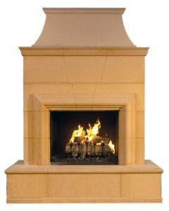 American Fyre Designs Cordova Outdoor Fireplace