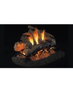 Peterson Real Fyre See Through Vented Gas Log Set - American Oak