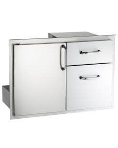 American Outdoor Grill 30-Inch Access Door & Double Drawer Combo - 18-30-SSDD