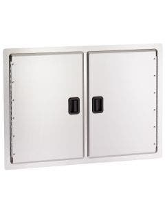 American Outdoor Grill 30 Inch Double Access Door With Black Handles - 20-30-SD