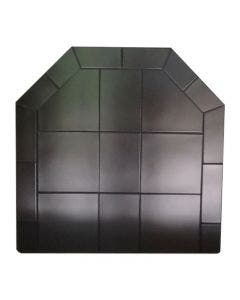 Diamond Hearths Standard Or Corner Hearth Pad - Black Knight