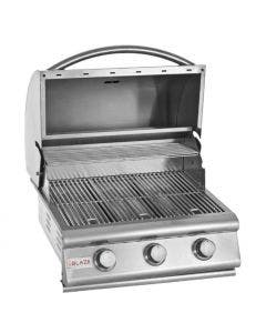 Blaze 25-Inch 3-Burner Built-In Gas Grill - BLZ-3