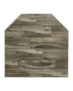 Diamond Hearths Standard Or Corner Hearth Pad - Barnwood