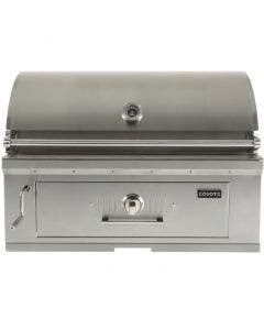Coyote 36-Inch Built-In Stainless Steel Charcoal Grill -C1CH36