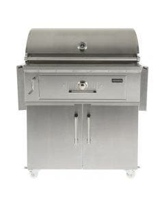 Coyote 36-Inch Freestanding Stainless Steel Charcoal Grill - C1CH36/C1CH36CT