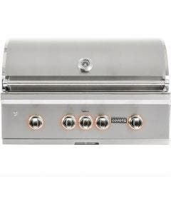 Coyote S-Series 36-Inch 4 Burner Built-In Gas Grill With Rapidsear Infrared Burner & Rotisserie - C2SL36