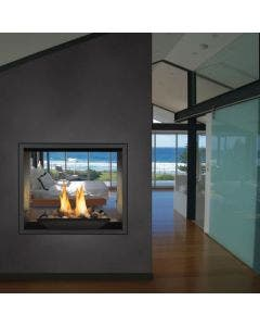 Napoleon High Definition 81 See Thru Direct Vent Gas Fireplace - HD81NT-1
