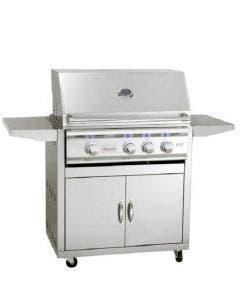 Summerset TRL 32-Inch 3-Burner Freestanding Gas Grill - TRL32-NG /TRL32-LP / CARTTRL32
