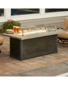 The Outdoor Greatroom Cedar Ridge Gas Fire Table - CR-1242-K