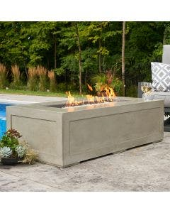 The Outdoor Greatroom Cove 60-Inch Linear Gas Fire Pit Table - CV-1242