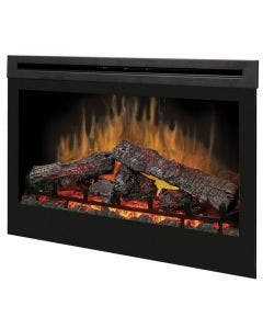 Dimplex 33-Inch Self-Trimming Electric Fireplace - Inner-Glow Logs- DF3033ST