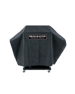 Broilmaster Full Length Premium Grill Cover For P, T, And R Series On Cart With One Side Shelf - DPA109