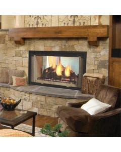 Majestic See Through Wood Burning Fireplace- DSR42