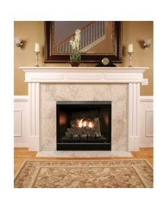 Empire Tahoe 36- Inch Clean-Face Deluxe Direct-Vent Fireplace