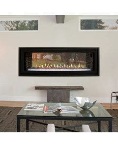 """Empire 48"""" Boulevard Direct Vent See-Through Linear Gas Fireplace - DVLL48SP90"""
