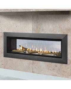 Majestic Echelon II See Through Gas Direct Vent Fireplace- ECHEL36STIN-C