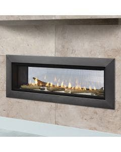 Majestic 48-Inch See Through Gas Direct Vent Fireplace- ECHEL48IN-C