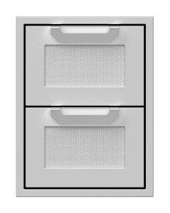 Hestan 16-Inch Double Storage Drawers - AGDR16