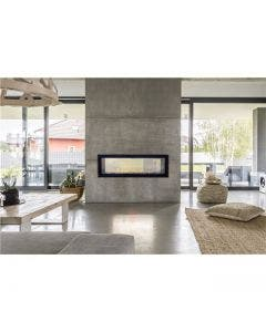 """Empire 48"""" Boulevard Vent Free See-Through Linear Fireplace - VFLB48SP90"""
