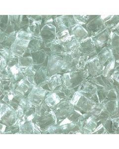 HPC 1/4 Inch Clear Fire Glass - 10 Lbs - FPGLCLEAR