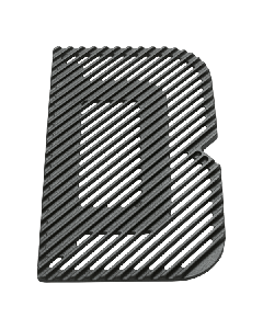 Everdure By Heston Blumenthal Outer Grill Plate for FURNACE™ Barbeque Grill - HBG3GRILLLR