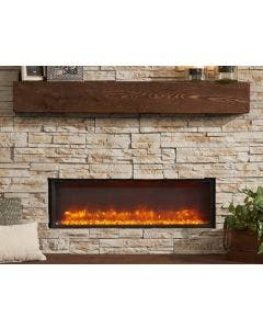 Greatco 44-Inch Built-In Linear Electric Fireplace - GBL-44