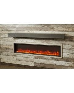 Greatco 64-Inch Built-In Linear Electric Fireplace - GBL-64