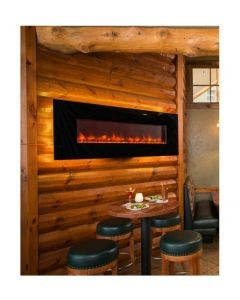 Greatco 70-Inch Wall Mount Electric Fireplace - GE-70 - GE-70