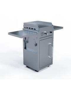 Le Griddle 1 Burner Griddle With Stainless Cart- GFE40-NG/GFE40-LP