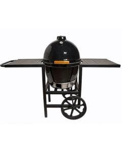 Goldens' Cast Iron 20.5-Inch Cooker with Full Cart - 13525