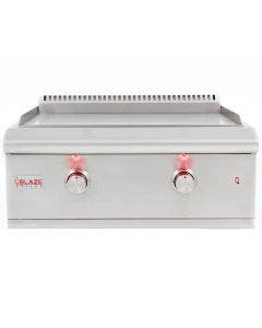 Blaze 30 Inch Built-in Gas Griddle with Lights